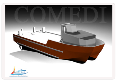 Comedi alumiboat: Boat Repair in Tunisia